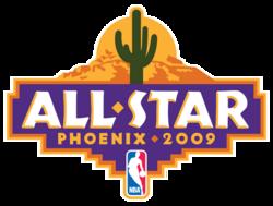 2009 NBA All Star Game logo