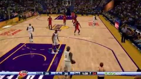 NBA 2K6 - Kobe Bryant 81 points Challenge