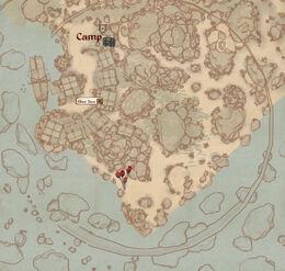 Ghosttown map