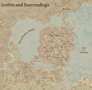 Erothin Map