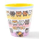 Cat Melamine Cup