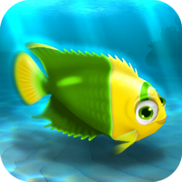File:FISHR Yellow-Green Bicolor Angelfish.png
