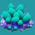 COR Blue Bubble Coral