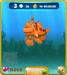 Orange Clown Frogfish
