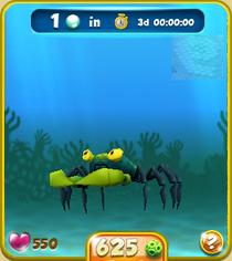 Rare Green Vampire Crab