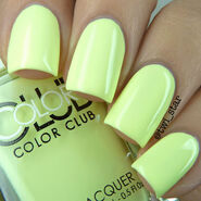 Color Club Poptastic Pastel Neon Under The Blacklight swatch 01