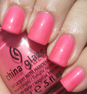 China Glaze Pink Plumeria 1
