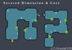 Severed Dimension and Core