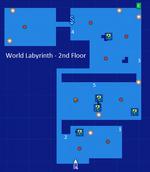 World Labyrinth-2nd Floor Map Re;Birth2