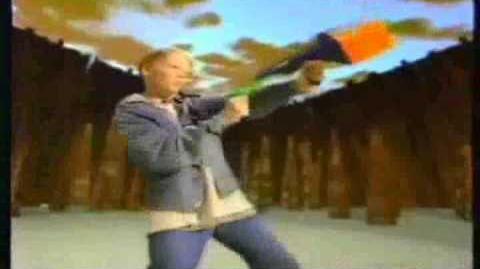 Nerf Ad- Ballzooka (1994)