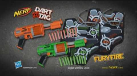 Nerf 2009 Commercial - Dart Tag FuryFire set