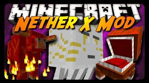 Minecraft Mod Review THE NETHER X MOD! (Ghast Queen, New Mobs & More!)