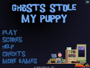Menue of ghost without the ulgy little dog