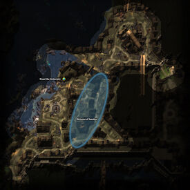 Stolen Supplies Quest Map