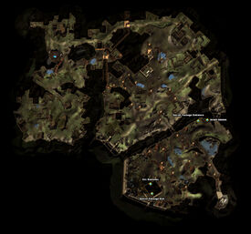 Fists of the Warband Quest Map