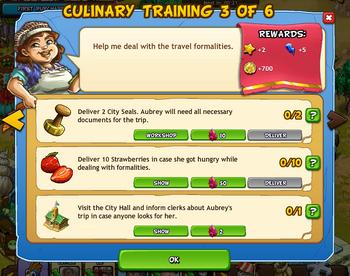 Culinary training 3 of 6