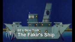 Fakir's Ship
