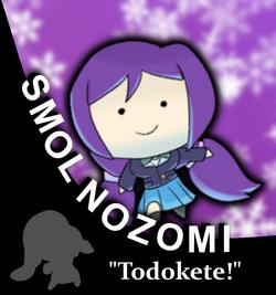 Smol Nozomi Character Portrait Updated