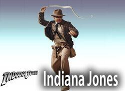 Indiana Jones Character Stand