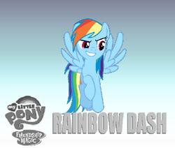Rainbow Dash bg 2