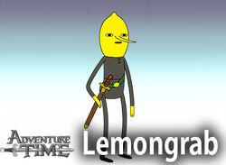Lemongrab Character Stand