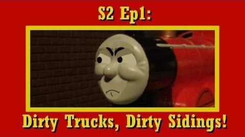 Sodor's Tales S2 Ep1 Dirty Trucks, Dirty Sidings!