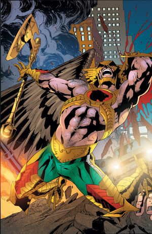 Savage Hawkman 19 Textless