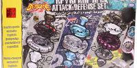 Beyblade Deck Attack & Defense Set