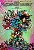 Suicide Sqaud Tree Poster