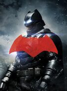 Batman BvS Textless Poster