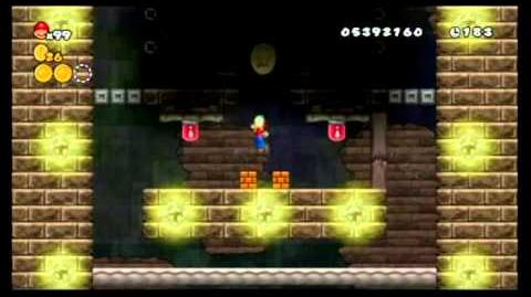 Newer Super Mario Bros. Wii 100%- World 6 - Pumpkin Boneyard