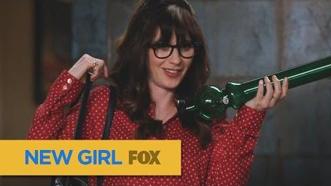 """NEW GIRL Giggle Dirt from """"A Chill Day In"""" FOX BROADCASTING"""
