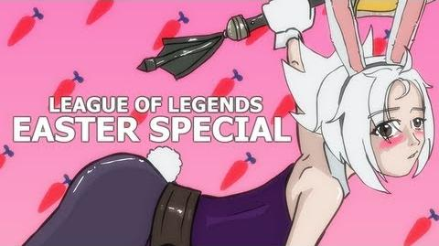 Ricks League Of Legends Easter Special (Animated parody)