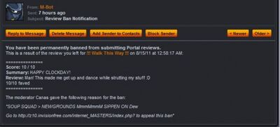 Reviewbanned