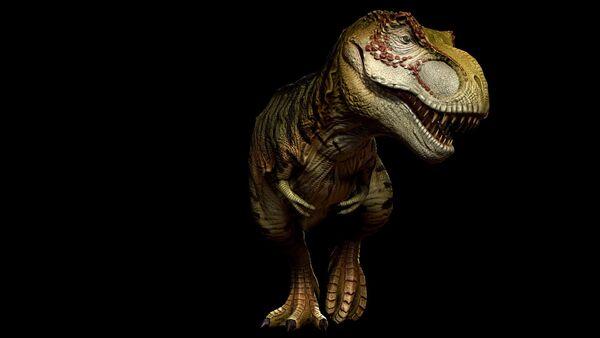 Harlequin Tyrannosaurus