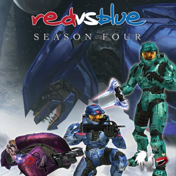 Official Red vs. Blue Season 4 DVD cover.