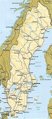 Файл:Карта Швеции.png