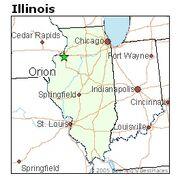 Image Orion, Illinois location