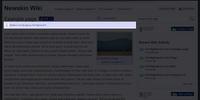 Page details header