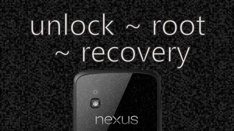 How to Unlock, Root, and Install Recovery!