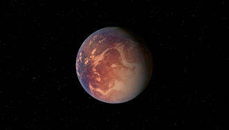 Planet Gliese 581 e