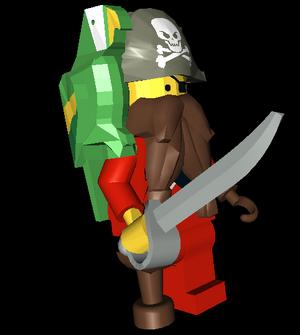 Pirate 3D Model NPC LNA