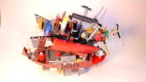 """Chomp Jaw Battleship - ReBrick """"Be the Special"""" Entry"""