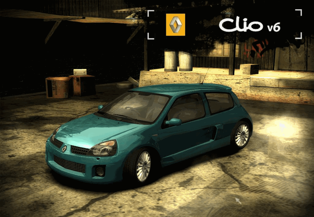image renault clio ii need for speed wiki. Black Bedroom Furniture Sets. Home Design Ideas
