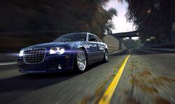 CarRelease Chrysler HEMI 300C SRT-8 Blue