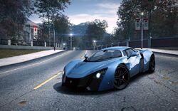 CarRelease Marussia B2 Blue