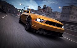CarRelease Ford Mustang Boss 302 (2012) Yellow