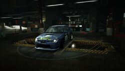 Garage Subaru Impreza WRX STI Lapse