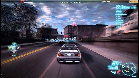 """NFS World - Sprint """"Petersburg Dam"""" - Single Player - 70"""