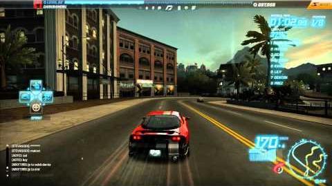 "NFS World - Sprint ""Mason Street"" - Single Player - 10"